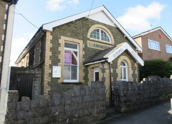 Thumbnail 1 bed detached house for sale in Park Road, Bargoed