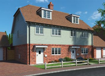 Thumbnail 3 bed semi-detached house for sale in Nursery Fields, The Street, Worth, Deal