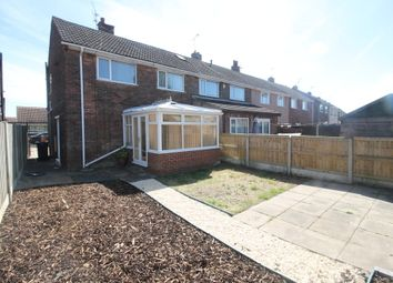 Thumbnail 3 bed end terrace house for sale in Burnham Grove, Scawthorpe, Doncaster