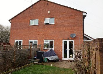 Thumbnail 2 bed terraced house for sale in Darwin Close, Taunton