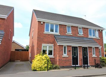 Thumbnail 3 bed semi-detached house for sale in Denholme Road, Nottingham