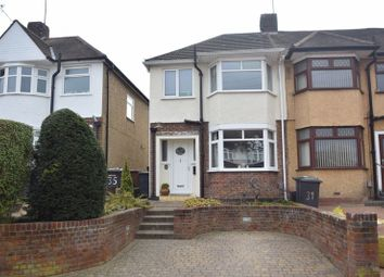 Thumbnail 3 bed end terrace house to rent in River Way, Luton