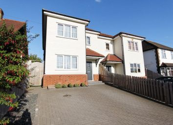 Thumbnail 3 bed semi-detached house for sale in Avelon Road, Collier Row, Romford