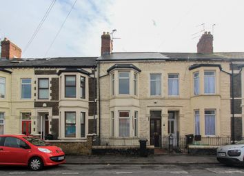 Thumbnail 3 bedroom terraced house to rent in Major Road, Canton, Cardiff
