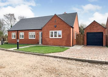 Thumbnail 3 bed detached bungalow for sale in Bagnall Lock, Alrewas, Burton-On-Trent