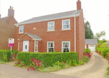 Thumbnail 4 bedroom detached house for sale in Main Road, Three Holes, Wisbech