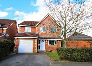 Thumbnail 4 bedroom detached house for sale in Vespasian Gardens, Basingstoke