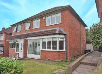Thumbnail 3 bed semi-detached house for sale in Holmesfield Road, Birmingham
