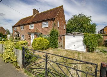 Thumbnail 2 bed semi-detached house for sale in The Close, Woodcote, Reading