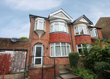 Thumbnail 3 bed semi-detached house for sale in Glenville Avenue, Enfield, Middlesex