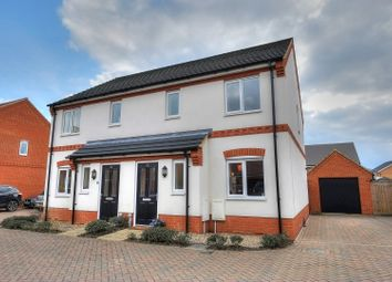 Thumbnail 3 bedroom semi-detached house for sale in Verbena Road, Norwich