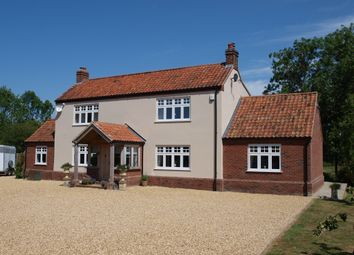 Thumbnail 3 bed detached house for sale in Crow Hill, Wood Dalling, Norwich