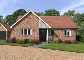 Thumbnail 2 bed detached bungalow for sale in Andrew Burtts Close, Framlingham