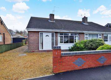Thumbnail 3 bed semi-detached bungalow for sale in Fishpond Way, Stoke-On-Trent