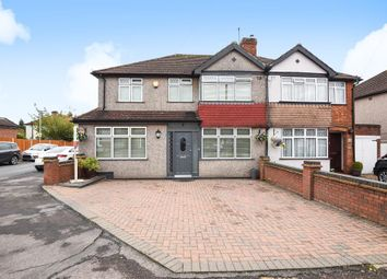 Thumbnail 4 bed semi-detached house for sale in Barton Way, Croxley Green