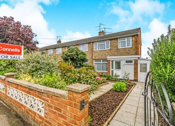 Thumbnail 3 bedroom end terrace house for sale in Windmill Avenue, Kettering