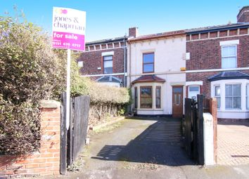 Thumbnail 4 bed terraced house for sale in Longland Road, Wallasey