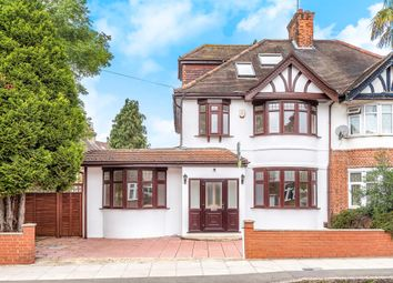 Thumbnail 5 bed semi-detached house for sale in Claremont Avenue, New Malden