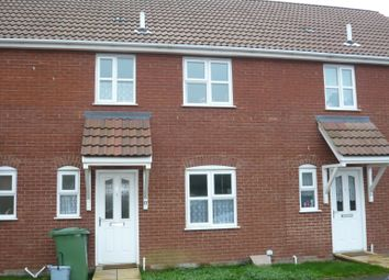 Thumbnail 3 bed terraced house to rent in Ostlers Road, Downham Market