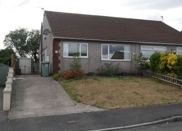 Thumbnail 2 bed semi-detached bungalow for sale in Clos Powys, Ygv., Beddau