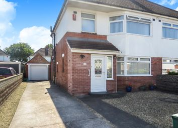 Thumbnail 3 bed semi-detached house for sale in Oakfield Road, Barry