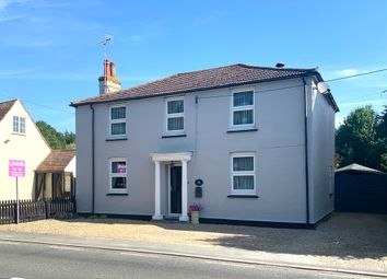 Thumbnail 4 bed detached house for sale in Harwich Road, Great Bromley, Colchester