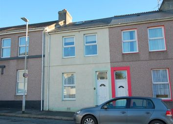 Thumbnail 3 bed terraced house for sale in Corporation Road, Plymouth