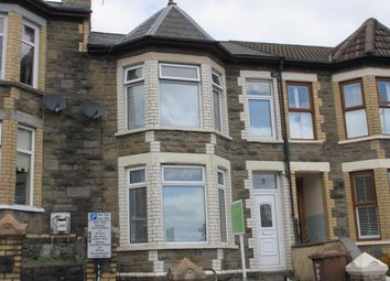 Thumbnail 3 bed terraced house for sale in Wood Street, Bargoed