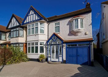 Thumbnail 4 bed semi-detached house for sale in Seagry Road, London