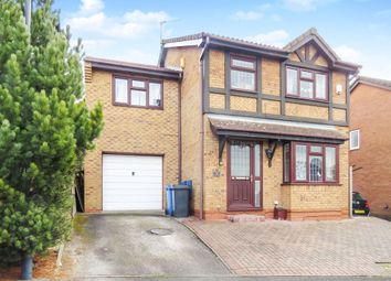 Thumbnail 5 bed detached house for sale in Woodhurst Close, Oakwood, Derby