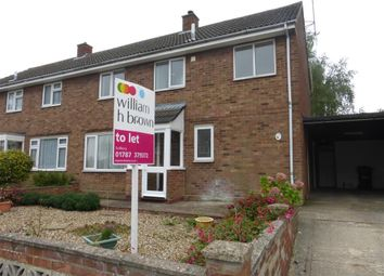 Thumbnail 3 bed property to rent in Chestnut Road, Glemsford, Sudbury