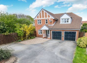 Thumbnail 4 bed detached house for sale in Wimpole Close, York