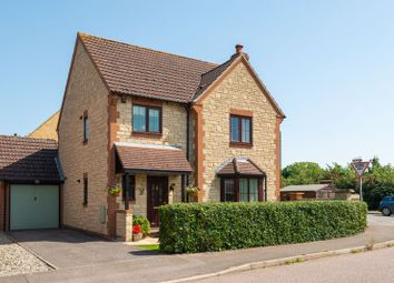 Thumbnail 4 bed detached house for sale in The Paddock, Longworth, Abingdon