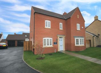 Thumbnail 5 bed detached house for sale in Meadowsweet Way, Wootton, Northampton