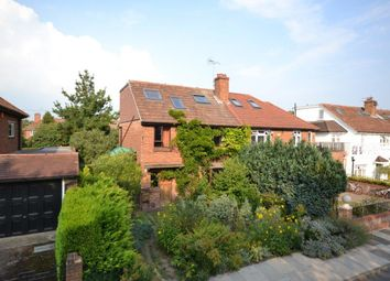 Thumbnail 5 bed semi-detached house for sale in Burnell Avenue, Ham, Richmond