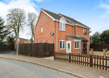 Thumbnail 2 bed semi-detached house for sale in Thorpe Drive, Attleborough