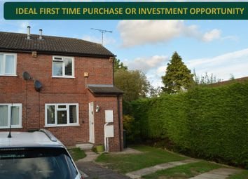 Thumbnail 2 bed end terrace house for sale in Freer Close, Wigston Harcourt, Leicester