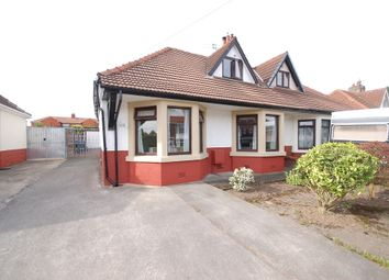 Thumbnail 3 bedroom semi-detached bungalow for sale in Newhouse Road, Blackpool