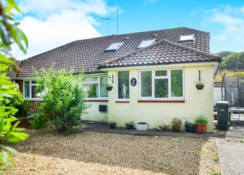 Thumbnail 4 bed semi-detached bungalow for sale in Eley Drive, Rottingdean, Brighton