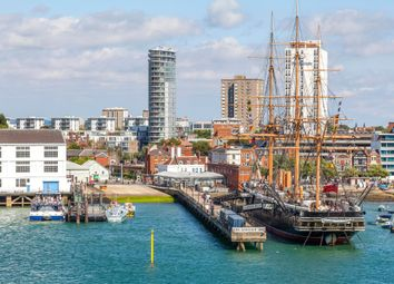 Thumbnail 1 bedroom flat to rent in Admiralty Tower, Queens Street, Portsmouth