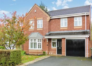 Thumbnail 4 bed detached house for sale in Horseshoe Drive, Cannock, Staffordshire