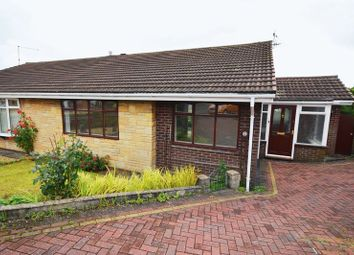 Thumbnail 2 bed semi-detached bungalow for sale in Fitzgerald Close, Weston Coyney, Stoke-On-Trent