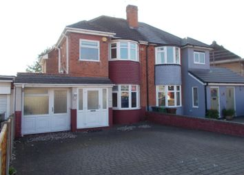 Thumbnail 3 bedroom semi-detached house for sale in Sandon Road, Wolverhampton
