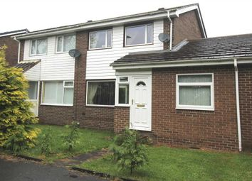Thumbnail 3 bed semi-detached house for sale in Linslade Walk, Beaconhill Glade, Cramlington