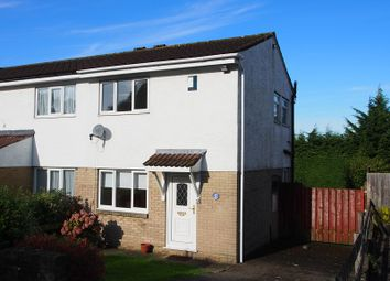 Thumbnail 2 bed semi-detached house to rent in Teifi Drive, Barry