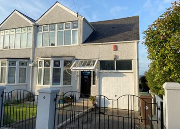 Thumbnail 3 bed semi-detached house for sale in Brean Down Road, Peverell, Plymouth