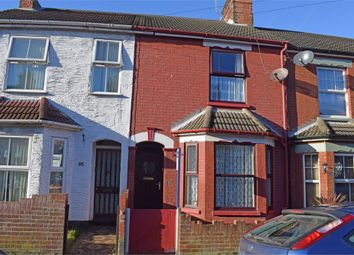 Thumbnail 3 bedroom terraced house for sale in Worthing Road, Lowestoft, Suffolk