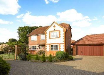 Thumbnail 4 bed detached house for sale in Heathcote, Tadworth, Surrey