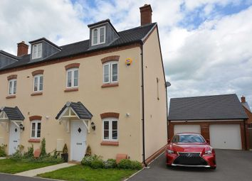 Thumbnail 3 bed end terrace house for sale in Ratcliffe Close, Old Stratford, Milton Keynes