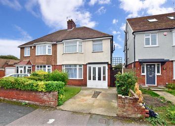 Thumbnail 3 bed semi-detached house for sale in The Ridgeway, Margate, Kent